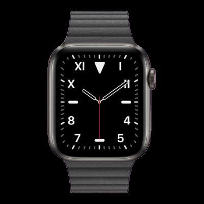 watch series 5 44mm titanium gps only
